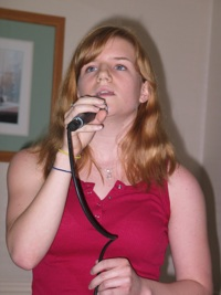 Charlotte Littlehales at the Inwood Coffeehouse